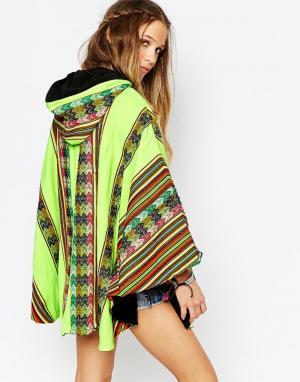 Pitusa Накидка-полотенце Inca. Цвет: лимонный