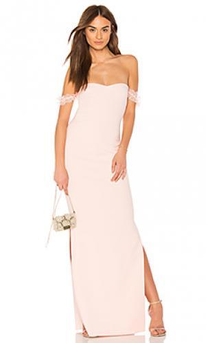 Вечернее платье olympia LIKELY. Цвет: розовый