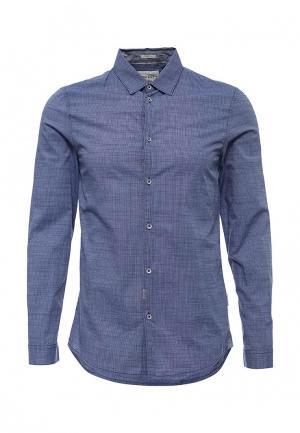 Рубашка Guess Jeans. Цвет: синий