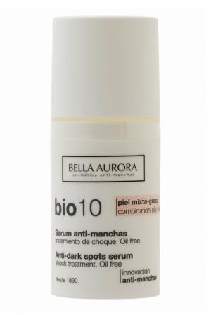 Сыворотка для ровного цвета лица Bio 10 Combination-Oily Skin 30ml Bella Aurora. Цвет: multicolor