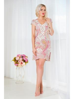 Ночная сорочка Mia Cara. Цвет: лиловый