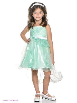 Платье ERKUT. Цвет: зеленый