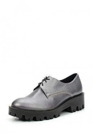 Ботинки Mastille. Цвет: серый