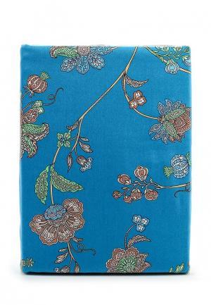 Комплект постельного белья 2-спальный Хлопковый Край. Цвет: синий