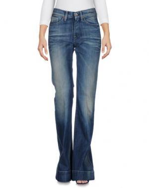 Джинсовые брюки NOLITA DE NIMES. Цвет: синий