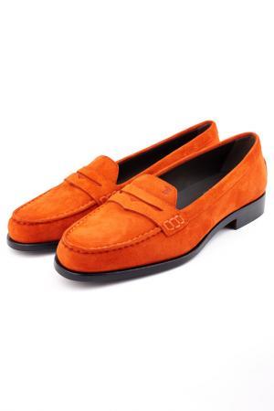 Мокасины Tods Tod's. Цвет: оранжевый