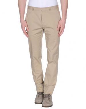 Повседневные брюки MAISON MARGIELA. Цвет: бежевый