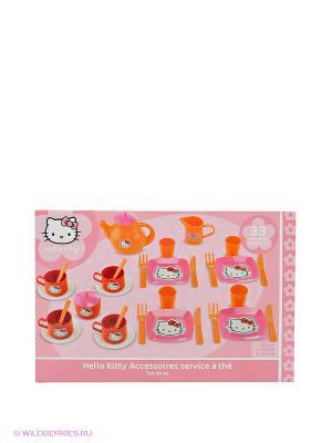 Набор посуды Hello Kitty Ecoiffier. Цвет: розовый