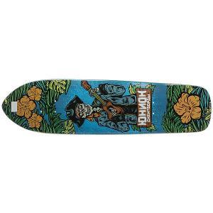 Дека для скейтборда лонгборда  Pirat Multi 8.5 x 32.5 (82.5 см) Юнион. Цвет: мультиколор