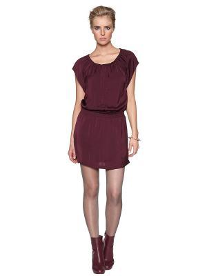 Платье TOM TAILOR. Цвет: сливовый