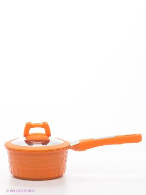 Ковш, 1,3л. Winner. Цвет: оранжевый