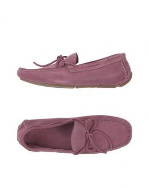 Мокасины SWAMP. Цвет: розовато-лиловый