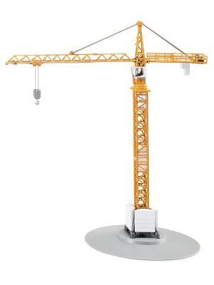 Подъемный кран вращающийся SIKU. Цвет: серый, желтый, оранжевый