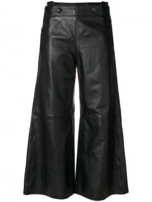 Широкие брюки Golden Goose Deluxe Brand. Цвет: чёрный