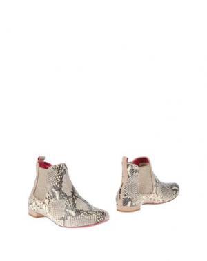 Полусапоги и высокие ботинки 181 BY ALBERTO GOZZI. Цвет: слоновая кость