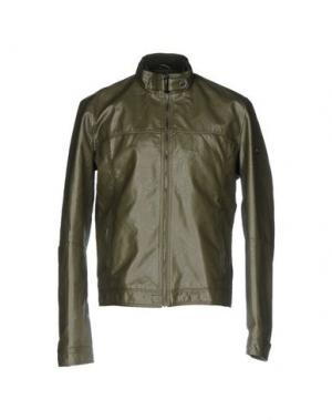Куртка YES ZEE by ESSENZA. Цвет: зеленый