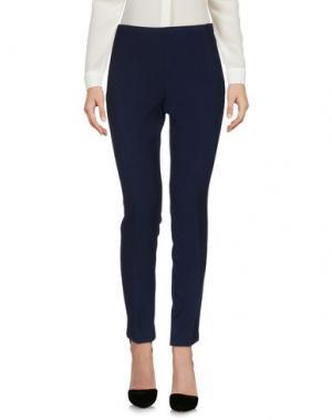 Повседневные брюки MALÌPARMI. Цвет: темно-синий