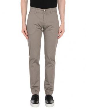 Повседневные брюки NICWAVE. Цвет: серый