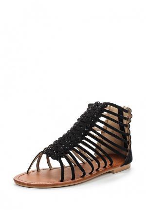 Сандалии Style Shoes. Цвет: черный