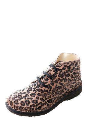 Ботинки для  девочки PRIMIGI. Цвет: темно-бежевый