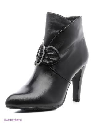 Ботильоны Moda Donna. Цвет: черный