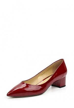 Туфли El Tempo. Цвет: красный