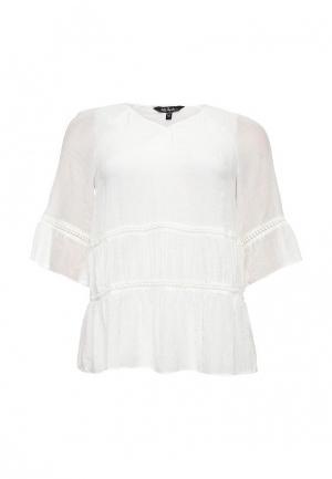 Блуза Ulla Popken. Цвет: белый