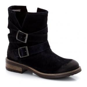 Ботинки кожаные TAMARIS. Цвет: синий морской