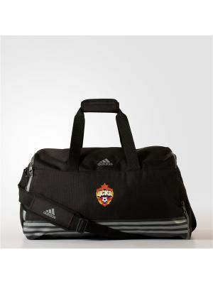 Спортивная сумка CSKA TB M BLACK Adidas. Цвет: черный