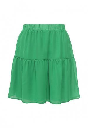 Юбка Modis. Цвет: зеленый