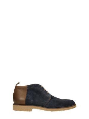 Ботинки GINO ROSSI. Цвет: темно-синий, темно-коричневый