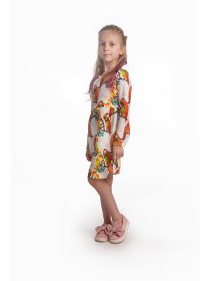 Платье Попугайчики L&K