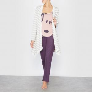 Пижама из 3 предметов SNOOPY. Цвет: розовый