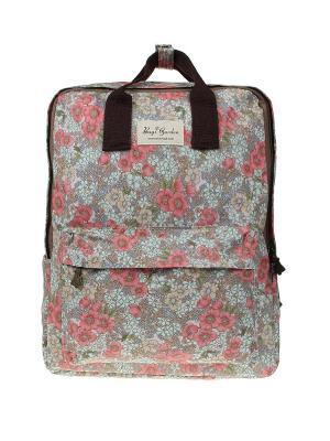 Рюкзак Bags Garden. Цвет: розовый, серый