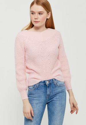 Пуловер Miss Selfridge. Цвет: розовый
