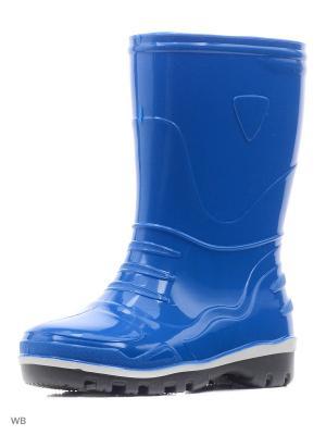 Резиновые сапоги Nordman. Цвет: синий
