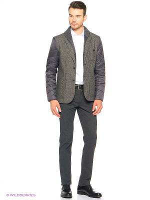 Куртка Trussardi. Цвет: темно-серый