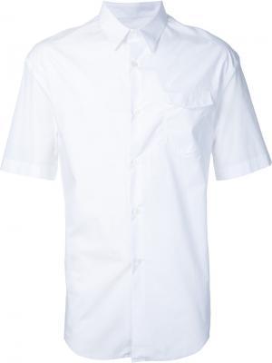 Многослойная рубашка Consistence. Цвет: белый