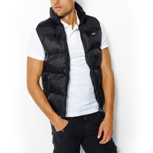 Куртка без рукавов SCHOTT. Цвет: антрацит/ черный,черный