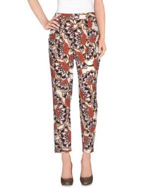 Повседневные брюки TWENTY EASY by KAOS. Цвет: коричневый