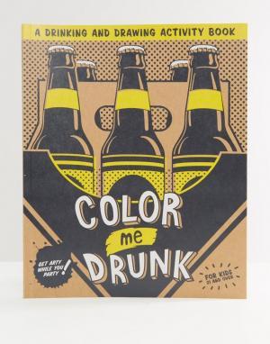 Books Раскраска Colour Me Drunk. Цвет: мульти