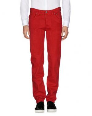 Повседневные брюки JECKERSON. Цвет: красный