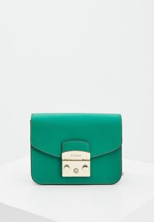 Сумка Furla. Цвет: зеленый