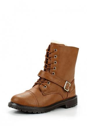 Ботинки Style Shoes. Цвет: коричневый