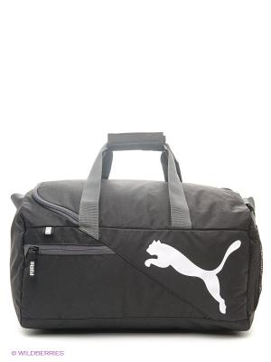 Сумка Fundamentals Sports Bag S Puma. Цвет: черный