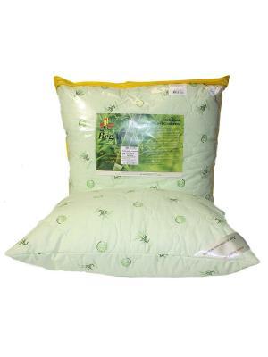 Подушка стеганая 50*70 Бамбук BegAl. Цвет: салатовый