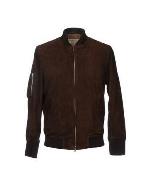 Куртка VINTAGE DE LUXE. Цвет: какао
