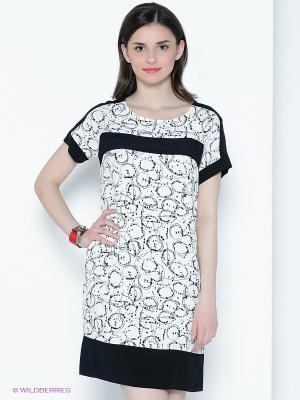 Платье Sinequanone. Цвет: белый, черный