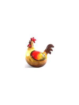 Садовая фигура - Петушок Marquis. Цвет: коричневый, красный