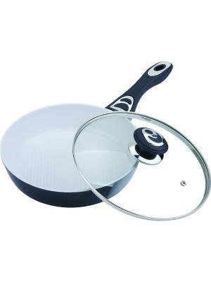 Сковорода с керамическим покрытием. BH 7514 BOHMANN. Цвет: бронзовый